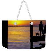 Goodnight Sun Weekender Tote Bag by Karen Wiles