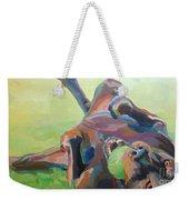 Goofball Weekender Tote Bag by Kimberly Santini