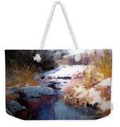 Goose Creek Winter Weekender Tote Bag