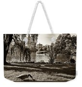 Goose In Central Park Nyc Weekender Tote Bag