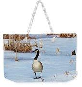 Goose Standing Weekender Tote Bag