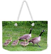 Goose Step Weekender Tote Bag by Will Borden
