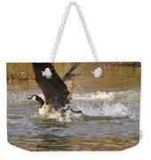 Goose Water Landing Weekender Tote Bag