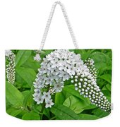 Gooseneck Flower Weekender Tote Bag by Aimee L Maher Photography and Art Visit ALMGallerydotcom