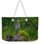Gorgeous Heron Weekender Tote Bag
