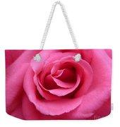Gorgeous Pink Rose Weekender Tote Bag