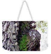 Gorilla Face In The Tree Weekender Tote Bag