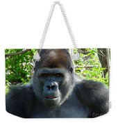 Gorilla Headshot Weekender Tote Bag