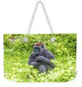 Gorilla Resting Weekender Tote Bag
