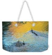 Goslings Morning Swim Weekender Tote Bag