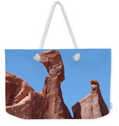 Gossips At Arches National Park Weekender Tote Bag