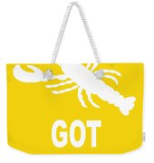 Got Butter Lobster Weekender Tote Bag