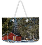 Got Wood Weekender Tote Bag