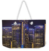 Gotham Detroit Weekender Tote Bag by Nicholas  Grunas