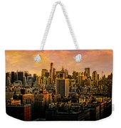 Gotham Sunset Weekender Tote Bag