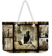Gothic And Crows Weekender Tote Bag