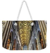 Gothic Architecture Weekender Tote Bag by Adrian Evans