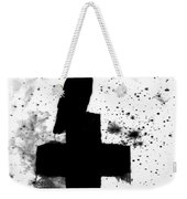 Gothic Black And White Weekender Tote Bag