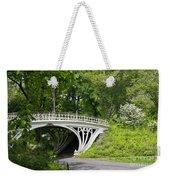 Gothic Bridge In Central Park Weekender Tote Bag