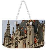 Gothic Bruges Weekender Tote Bag