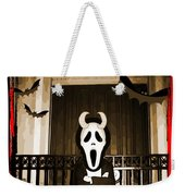 Gothic Church Sentinel Weekender Tote Bag
