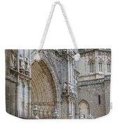 Gothic Splendor Of Spain Weekender Tote Bag by Joan Carroll