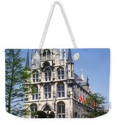 Gouda City Hall Weekender Tote Bag