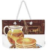 Gourmet Cover Of Pancakes Weekender Tote Bag