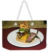 Gourmet Dinner Weekender Tote Bag