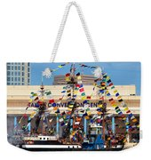 Tampa Convention Center And Gasparilla Weekender Tote Bag