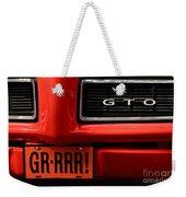 Gr-rrr Gto Weekender Tote Bag