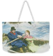 Grace Darling And Her Father Rescuing Weekender Tote Bag