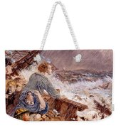 Grace Darling And Her Father Saving Weekender Tote Bag