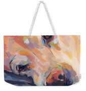Grace Weekender Tote Bag by Kimberly Santini