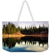 Grace Lake Northern California Weekender Tote Bag