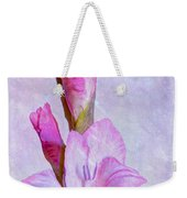 Grace With Textures Weekender Tote Bag