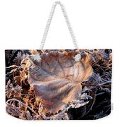Graced By Frost Weekender Tote Bag