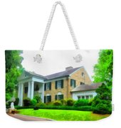 Graceland Mansion Weekender Tote Bag