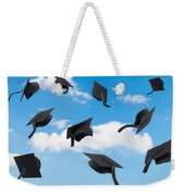 Graduation Mortar Boards Weekender Tote Bag