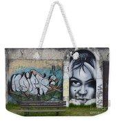 Graffiti Art Curitiba Brazil 1 Weekender Tote Bag by Bob Christopher