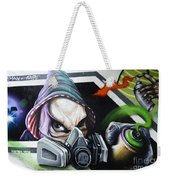 Graffiti Art Curitiba Brazil 18 Weekender Tote Bag by Bob Christopher