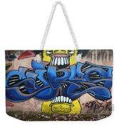 Graffiti Art Curitiba Brazil 7 Weekender Tote Bag by Bob Christopher