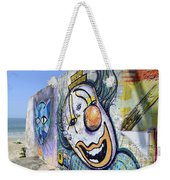 Graffiti Art Santa Catarina Island Brazil 1 Weekender Tote Bag by Bob Christopher