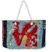 Graffiti Love Weekender Tote Bag