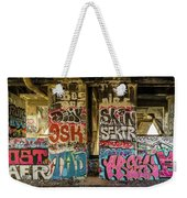 Graffiti On The Walls, Tenth Street Weekender Tote Bag