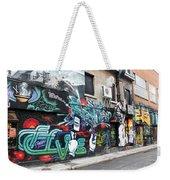 Graffiti Series 02 Weekender Tote Bag