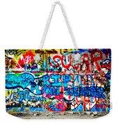Graffiti Street Weekender Tote Bag by Bill Cannon