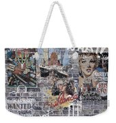 Graffiti Walls Weekender Tote Bag