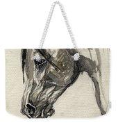 Grafik Polish Arabian Horse Ink Drawing Weekender Tote Bag