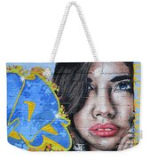 Grafitti Art Calama Chile Weekender Tote Bag